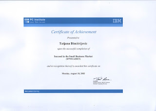 Succeed in the Small Business Market (SPW01A00EN) - IBM PC Institute, Tatjana Dimitrijevic