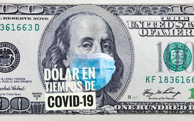 Dólar sube tras aumento de COVID-19