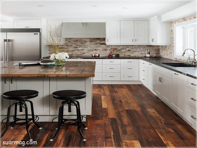 مطابخ مودرن خشب 13   Modern Wood kitchens 13