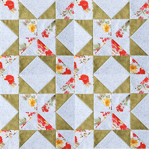 Star Puzzle Quilt - Free Pattern And Tutorial