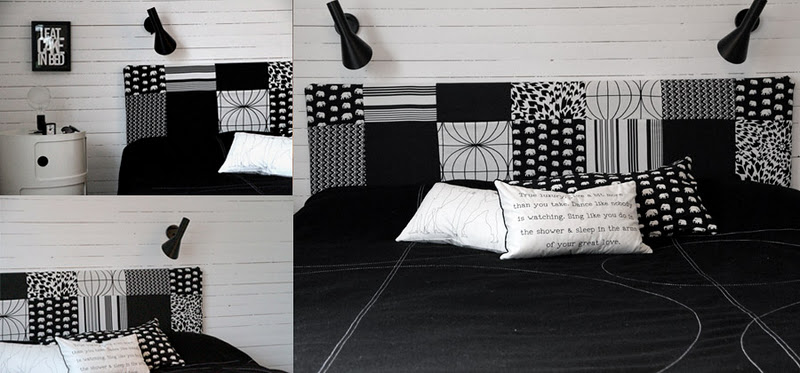 diy une t te de lit graphique anna g. Black Bedroom Furniture Sets. Home Design Ideas