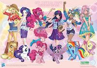 Kotobukiya My Little Pony Bishoujo Mane 6