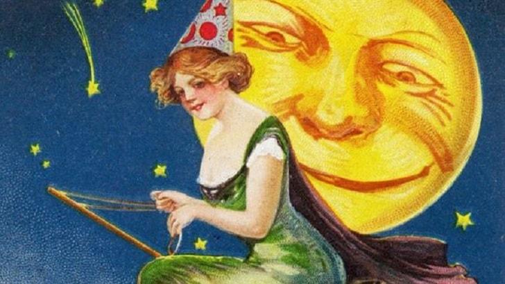 Старинные открытки в честь Хэллоуина - для настоящих гиков и поклонников ретро-ужасов