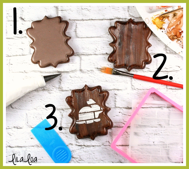 Wood Grain Sugar Cookie Tutorial