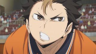 ハイキュー!! アニメ 3期2話 西谷夕 | Karasuno vs Shiratorizawa | HAIKYU!! Season3