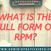 What Is The Full Form of RPM?