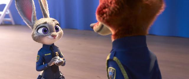 Fotograma de la película de Disney Zootrópolis Zootopia