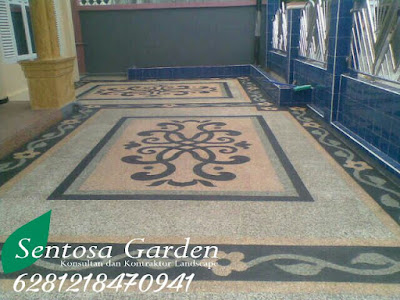 Carpot batusikat spesialis pembuatan lantai carpot.