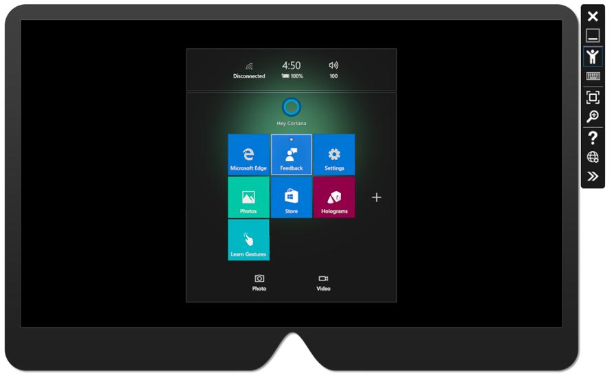 Emulare-HoloLens-2-PC