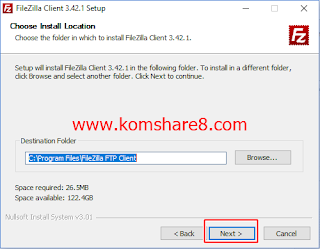 Cara Install FTP Client di Windows Filezilla
