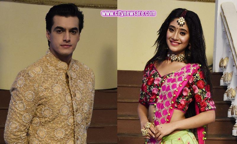 Shivangi Joshi aka Naira and Mohsin Khan aka Kartik