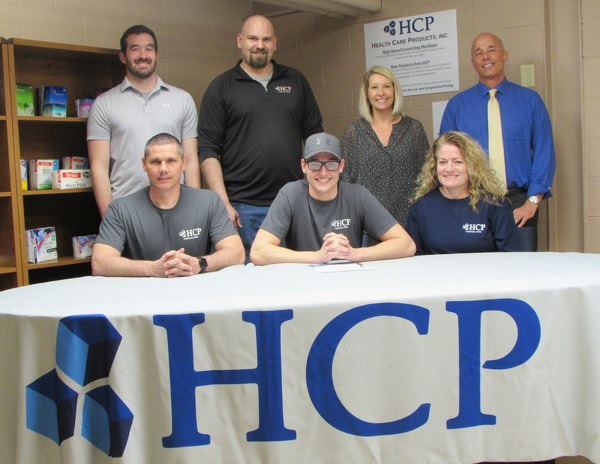 Tri Star CBI student signs on with HCP in Celina for internship