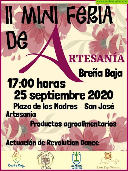 """BREÑA BAJA ARTESANA: """"Revolution Dance"""" en la segunda Mini Feria"""