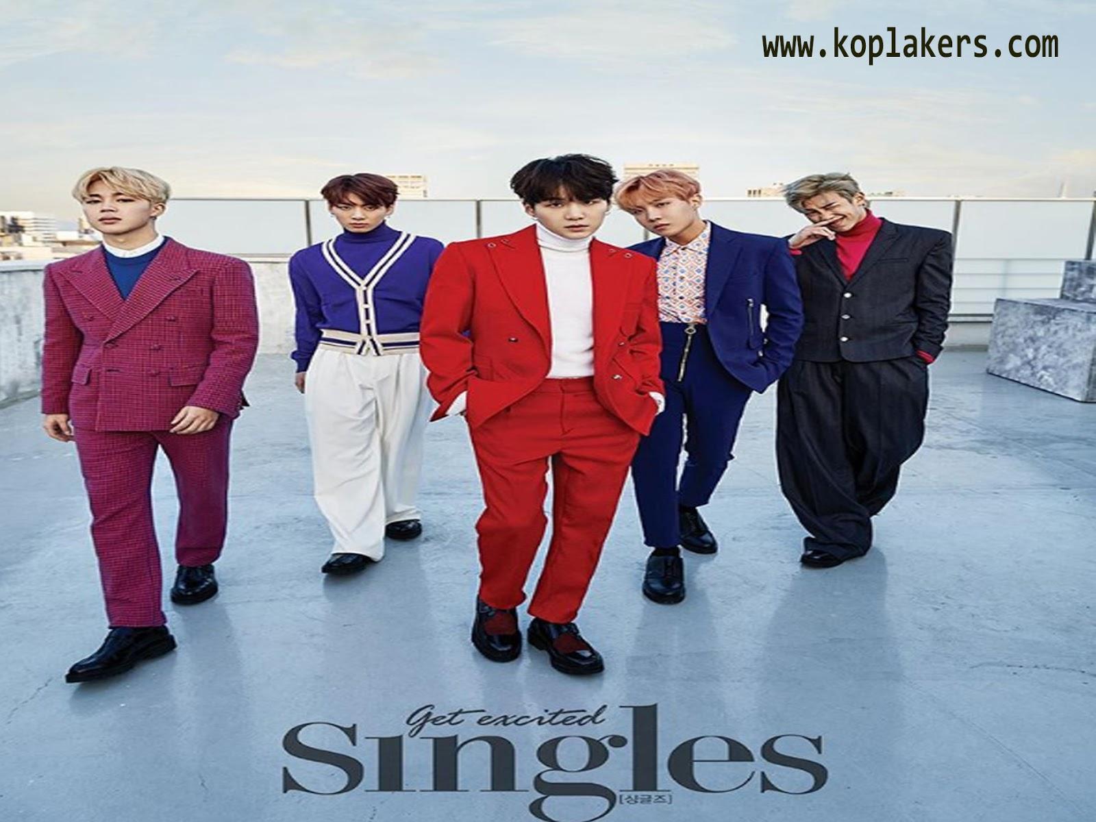 kumpulan lirik lagu terbaru BTS