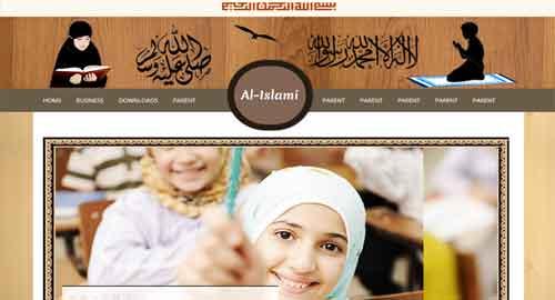 Al-Islamic Blogger Template