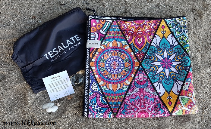 Tesalate Sand Free Beach Towel From Australia-The Best Beach Towel Review