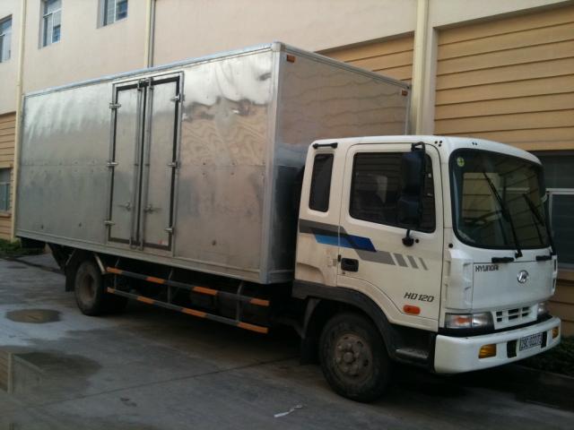 Hyundai HD120 thùng kín