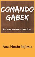 """Portada del libro """"Los gorilas ninja del rey Zilla"""", de Ana Morán Infiesta"""