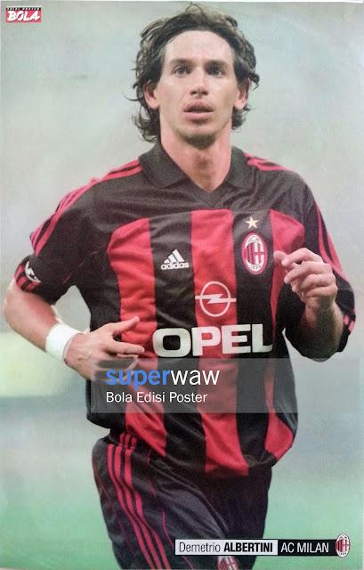 Poster Demetrio Albertini (AC Milan)