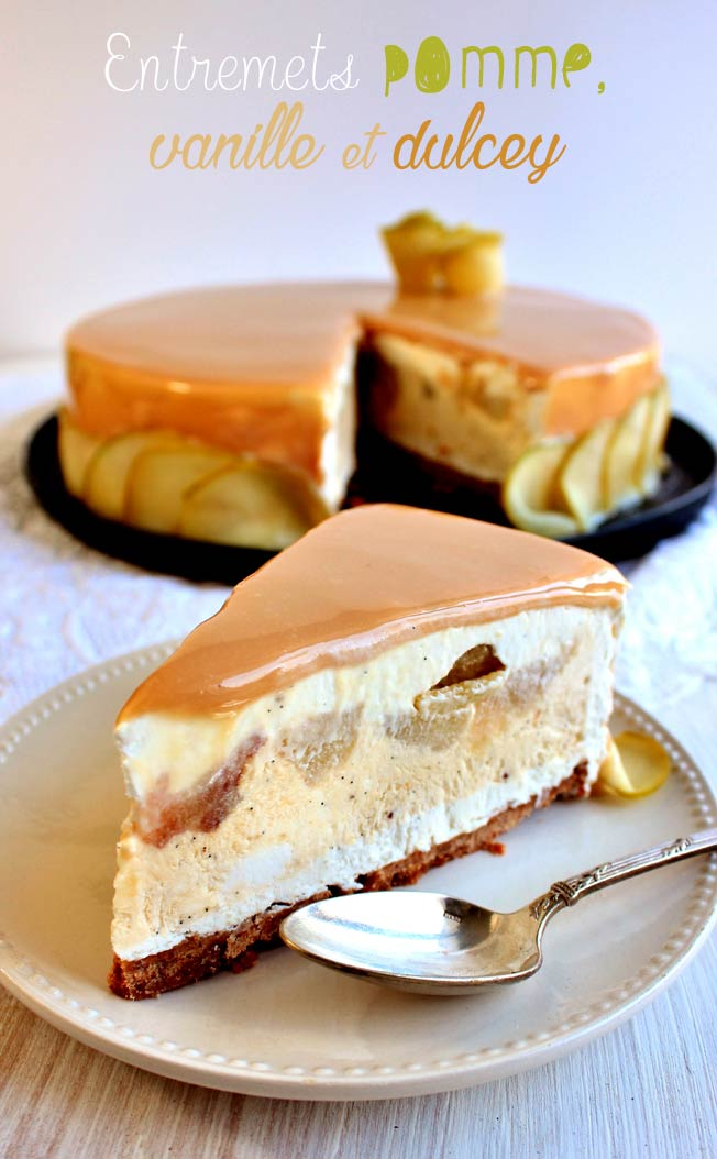 dessert pomme chocolat