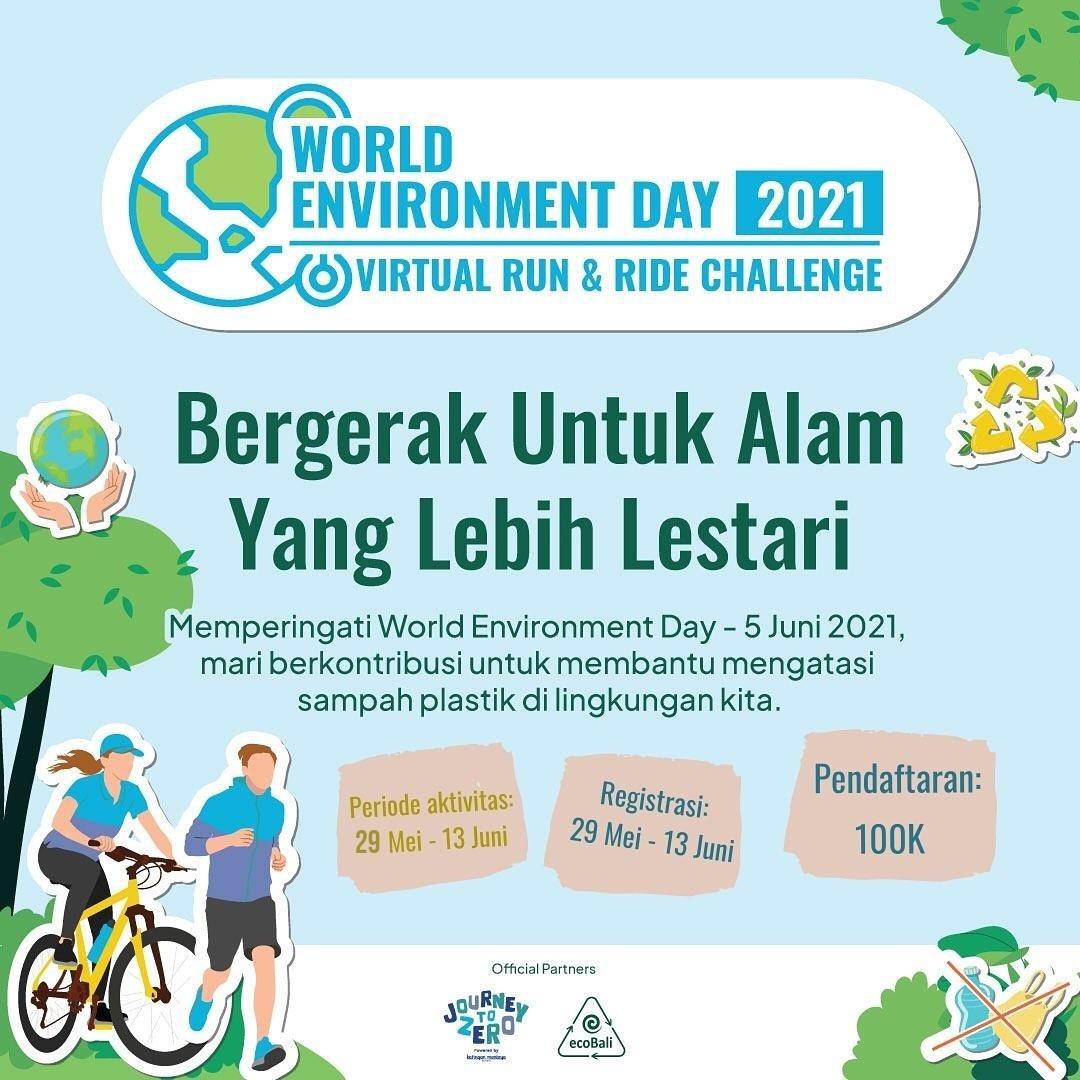 World Environment Day Virtual Challenge • 2021