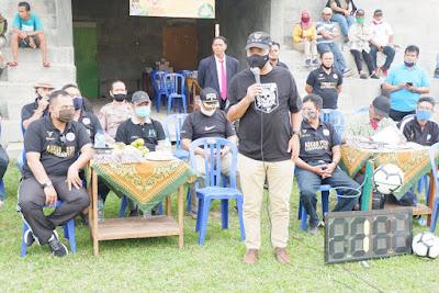 """Bupati"""" Juliyatmono Buka Liga Internal Askab PSSI Karanganyar Tahun 2020"""