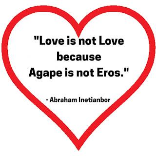 love is not love