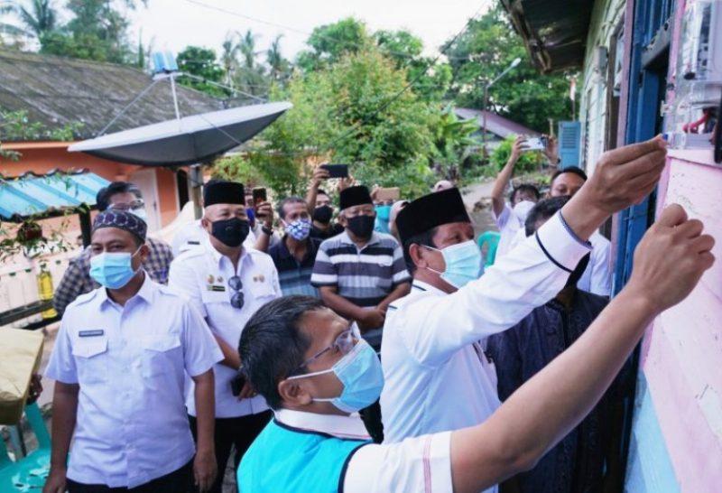 Bentuk Tingkatan Elektrifikasi, Isdianto Resmikan Bantuan Listrik Gratis untuk 51 Warga Bintan