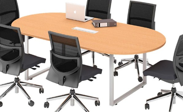 Meja Meeting Partisi Kantor