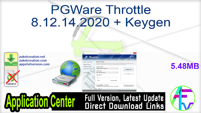 PGWare Throttle 8.12.14.2020 + Keygen
