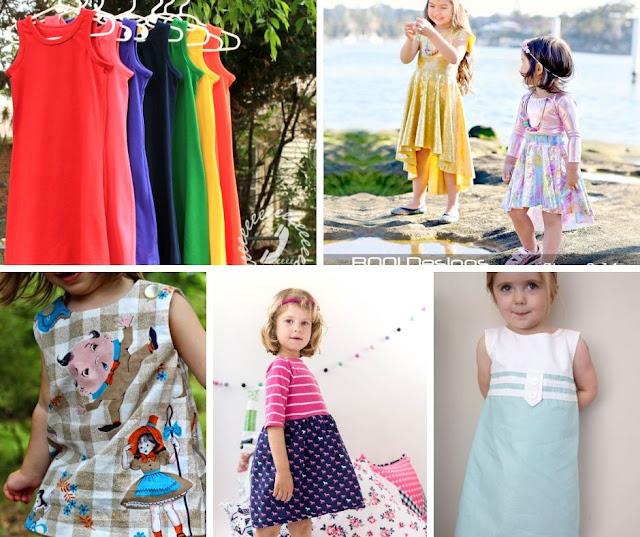 girls dress patterns free