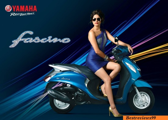"New Yamaha Scooter ""Yamaha Fascino"""