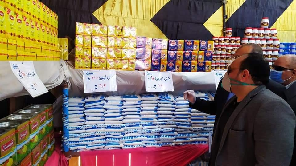 الحضري يفتتح أهلاً رمضان لبيع السلع الغذائية  بادكو