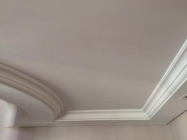 Emassamento de teto finalizado SP