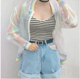 Aesthetic Holographic Clothing