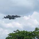 Pesawat Militer Milik AS Mendarat di Pekan Baru Guna Mendukung Latihan Militer Bersama