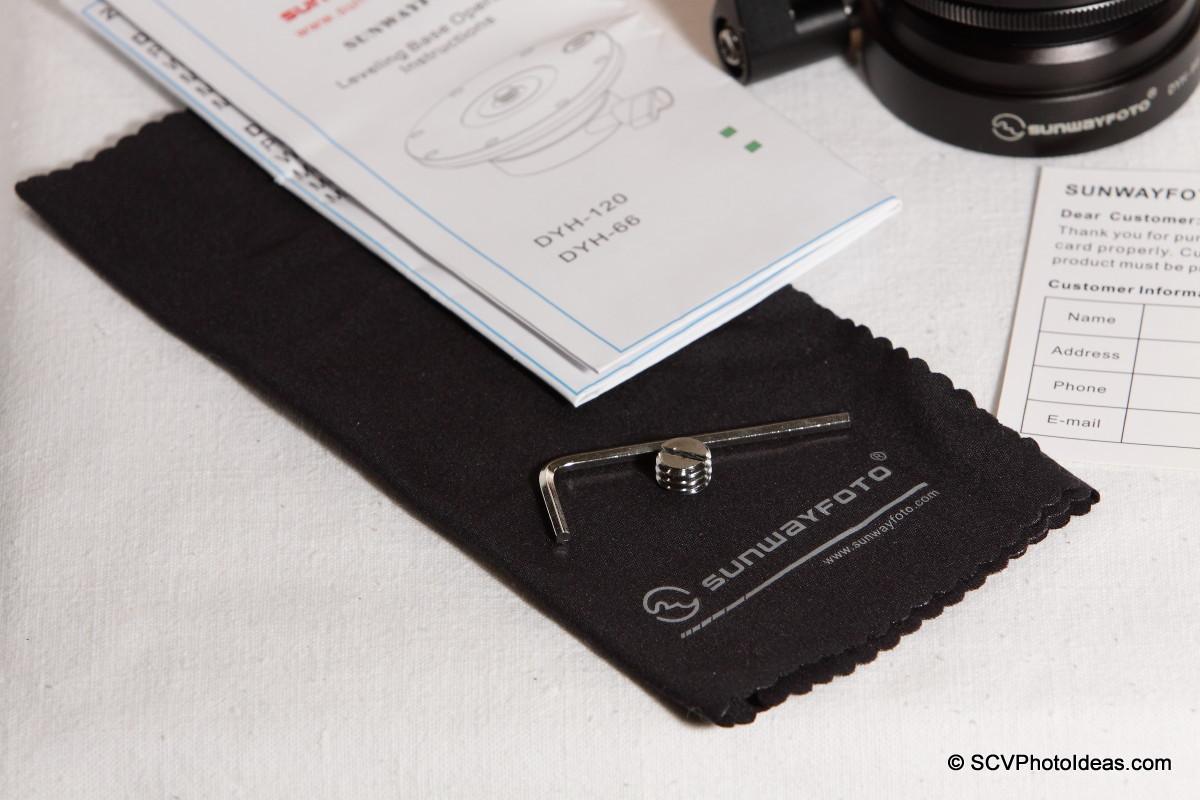 Sunwayfoto DYH-66i Accessories