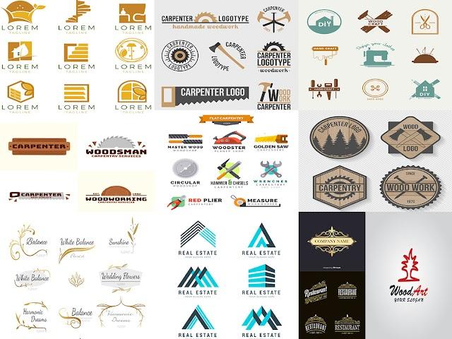 تحميل قوالب لتصميم شعار جاهزلمصانع ومعارض الاثاث للتعديل عليها في Illustrator