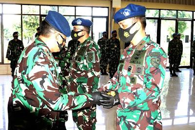 Tongkat Komando Lanud Supadio, Resmi Berpindah Tangan
