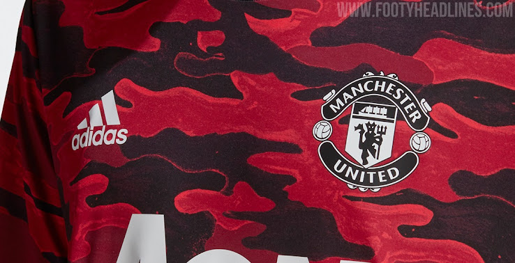 Manchester United 2021 Pre Match Shirt Released Footy Headlines