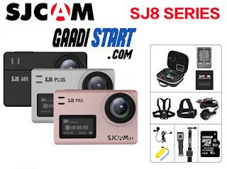 128G SJCAM SJ8 Air SJ8 Plus SJ8 Pro 1290P 4K 60fps WIFI Remote Control Action Camera