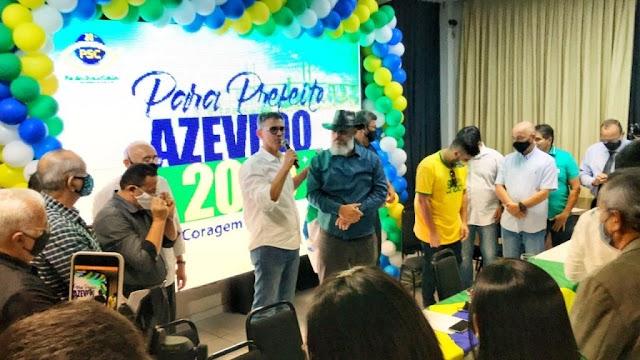 Deputado Coronel Azevedo tem nome homologado para candidato a prefeito de Natal