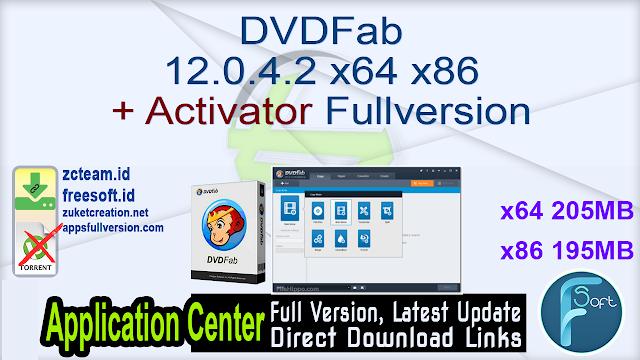 DVDFab 12.0.4.2 x64 x86 + Activator Fullversion