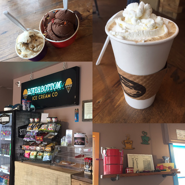 Riverbottom Ice Cream Co in Algonquin, Illinois serving up locally made ice cream