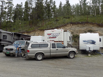 Our Spot #100 at the Pioneer RV Park