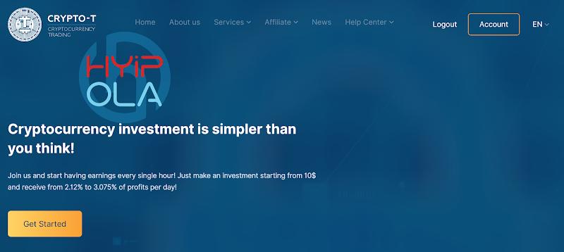 [SCAM] Review Crypto-T : Dự án đầu tư tốt với lãi up 3.075% hằng ngày - Cho rút vốn
