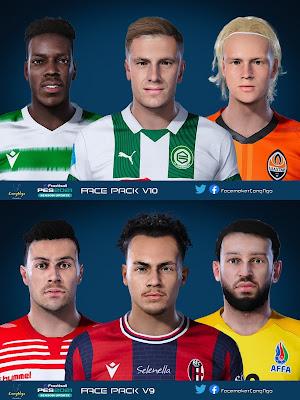 PES 2021 FacePack V9 & V10 by CongNgo