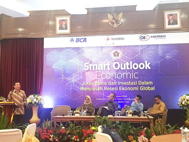 Siasati Resesi Ekonomi Global, PWI Pusat Gelar Smart Outlook Economic