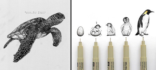 Animal Drawings by Last Maps