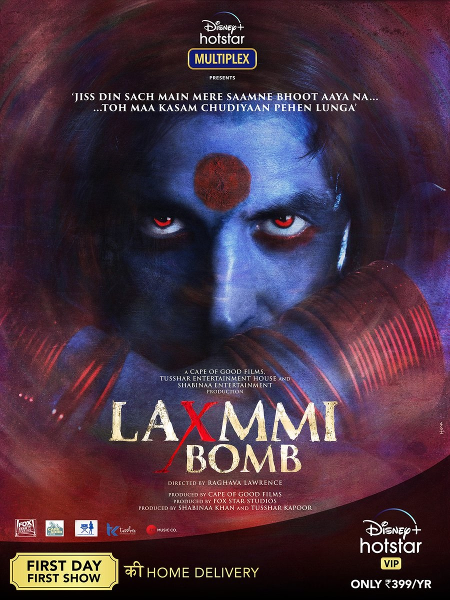Laxmmi Bomb Official First Look Movie Poster - Boxofficeindia, Box Office  India, Box Office Collection, Bollywood Box Office, Bollywood Box Office